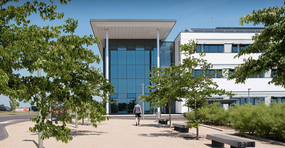 Exeter science Park building